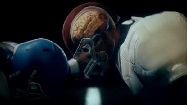 Hiába a sisak, sérül a sportolók agya