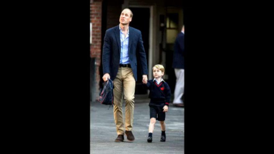 Iskolába ment György herceg