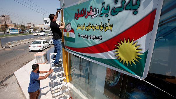 العبادي: استفتاء كردستان يدخل العراق في نفق مظلم