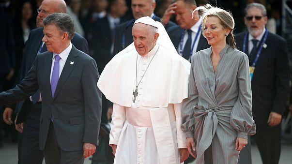 Papa Francisco pede aos colombianos que prefiram a reconciliação à vingança