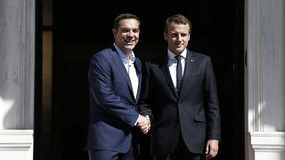 Macron says IMF should have smaller role in European bailouts