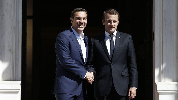 Macron: IMF AB meselelerine müdahale etmemeli