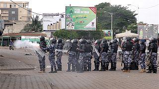 Togo : des milliers de manifestants anti-Gnassingbe dispersés à coups de gaz lacrymogènes
