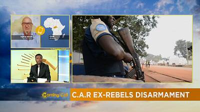 C.A.R ex-rebels surrender arms for reintegration [The Morning Call]