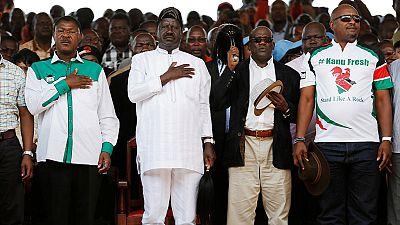 Kenya : l'opposition lance un appel aux dons pour le scrutin du 17 octobre
