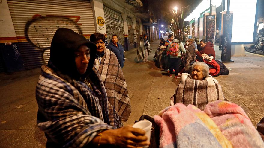 Todo tembló a medianoche en Ciudad de México