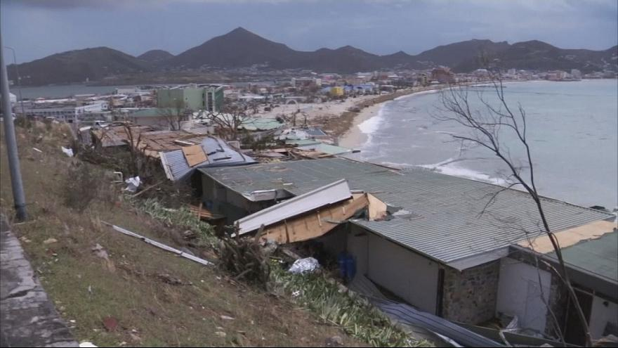 Сен-Мартен - остров, который не пощадила «Ирма»