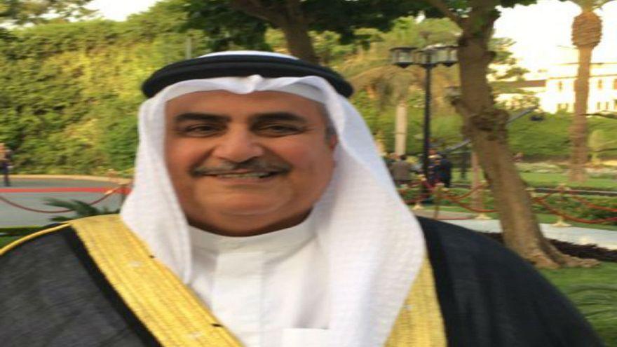 """وزير خارجية البحرين:""""قطر تصعد الوضع عسكريا وتستهدف الشعب المصري"""""""