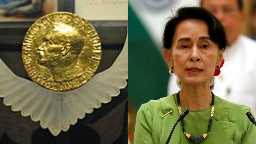 """لجنة نوبل: """"استحالة سحب جائزة نوبل من أونغ سان سوتشي"""""""