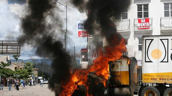 Мексика: протесты в Оахаке