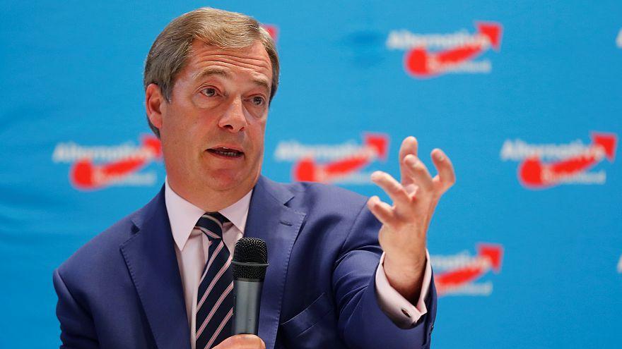 AfD: Schützenhilfe von Nigel Farage