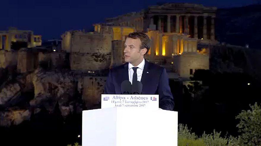 Τι εννοεί ο Μακρόν όταν ζητεί περισσότερη δημοκρατία στην Ευρώπη