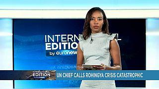 L'ONU demande l'arrêt des violences contre les Rohingha [International Edition]