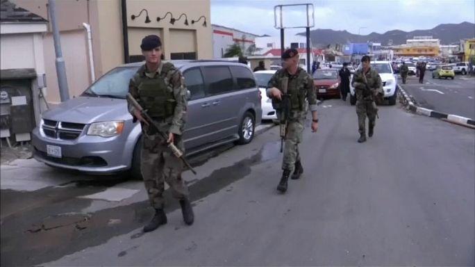 Pillages à Saint-Martin