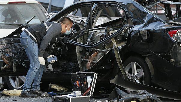 Взрыв в центре Киева