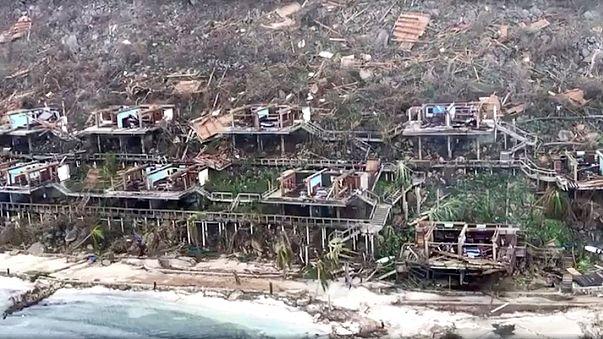 Social media footage gives glimpse of Hurricane Irma damage