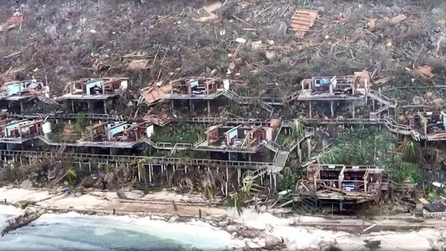 Social media footage gives glimpse of Hurricane Irma damage