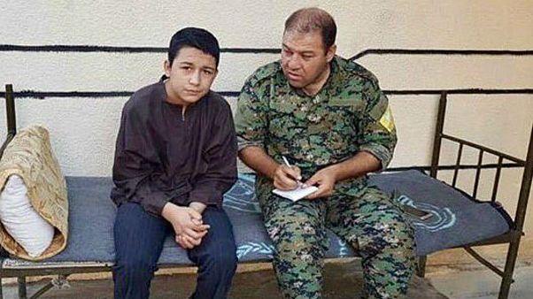 جلاد نوجوان داعش دستگیر شد