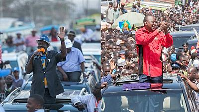 Kenya poll rerun: Uhuru on campaign trail, Raila seeks campaign funding