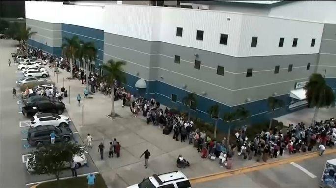 """Wirbelsturm """"Irma"""" über Kuba und unterwegs nach Florida"""