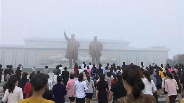 Kuzey Kore'de nükleer gerginlik gölgesinde kuruluş kutlaması