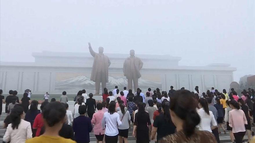Coreia do Norte festeja aniversário sob tensão