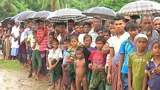 نزوح مستمر نحو بنغلادش وآلاف مسلمي الروهينغيا تتقطع بهم السبل في ميانمار