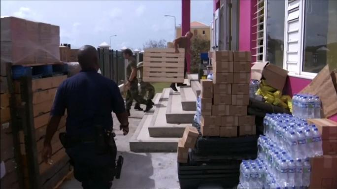 Saint Martin prepares for second hurricane in days