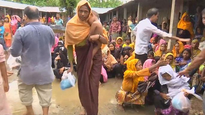 Призыв к помощи рохинджа