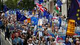 Thousands join London march to oppose Brexit