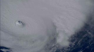 Uluslararası Uzay İstasyonu Irma Kasırgası'nın görüntülerini paylaştı