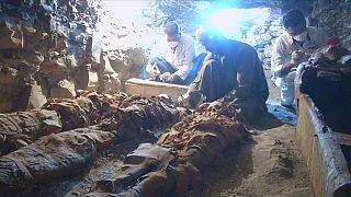 Mısır'da Firavun dönemine ait yeni mumyalar bulundu