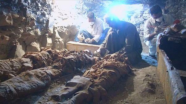 Spektakulärer Fund in Ägypten: Die Grabkammer eines Goldschmieds