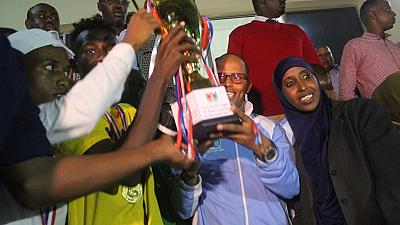 Somalians enjoy first football match at night in 30 years