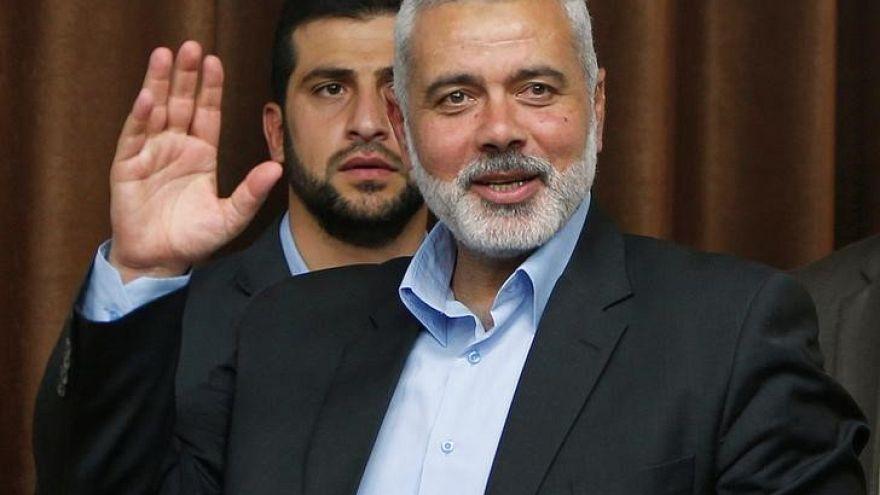هنية يصل إلى مصر لبحث قضية حصار قطاع غزة