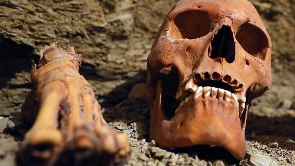 Découverte de momies en Egypte