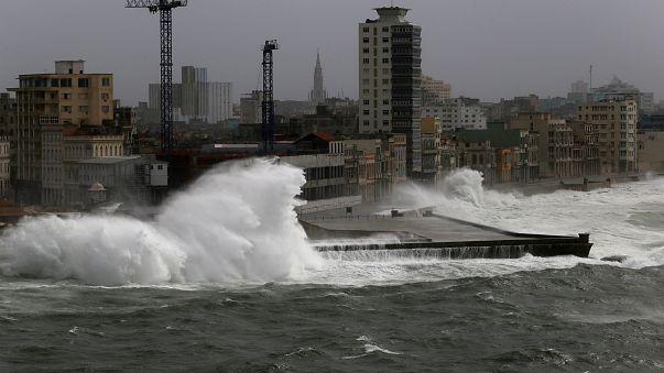 Furacão Irma chegou à Florida