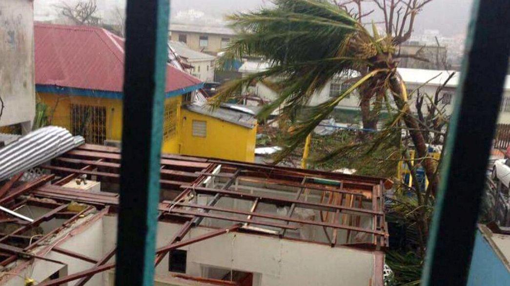 Irma kasırgası beklenen rotasını değişti