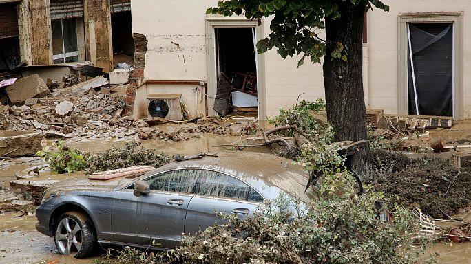 Livorno devastata dalle piogge