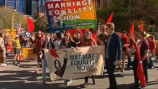"""Марш в поддержку """"справедливости в браке"""""""