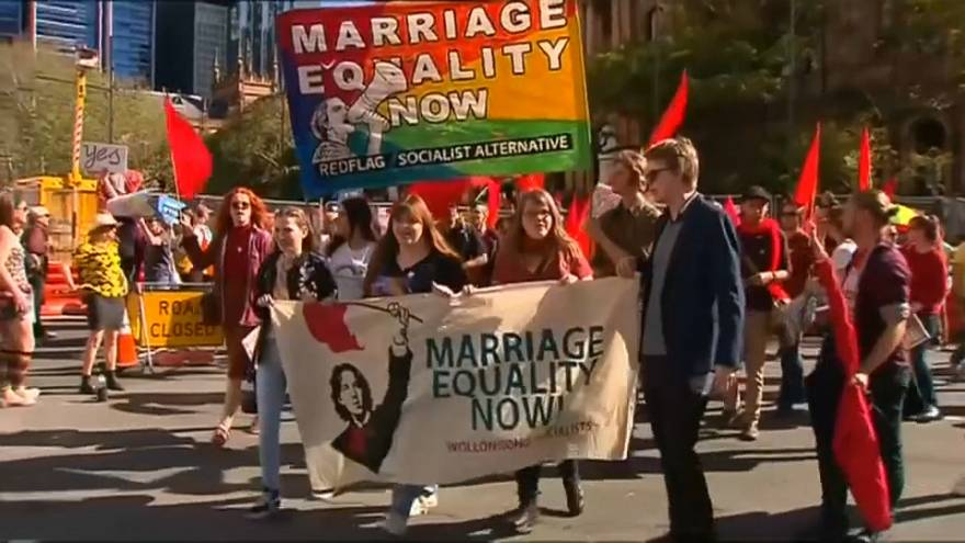 Sydney holds Australia's biggest-ever LGBT marriage equality rally