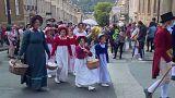 Парад костюмов эпохи регентства