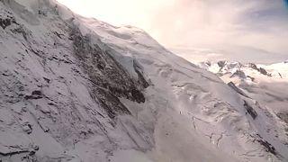 Gleccser szakadt le Svájcban