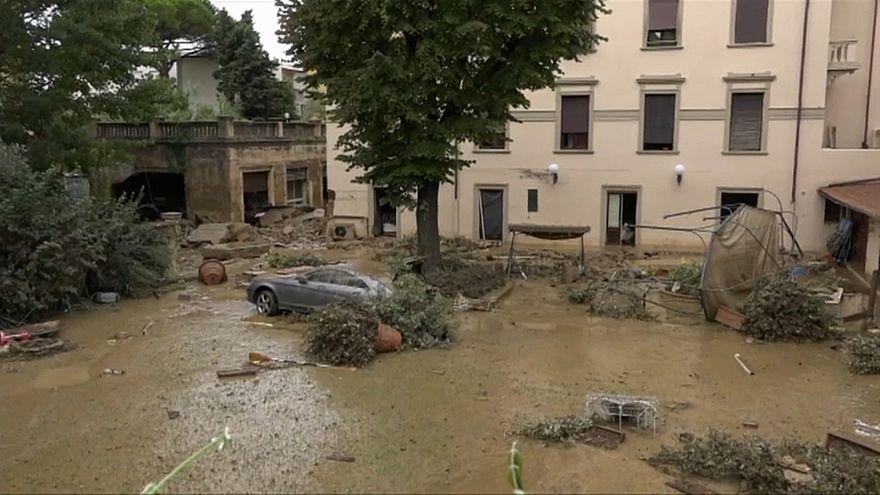 Nubifragio a Livorno: ai microfoni di Euronews il sindaco della città
