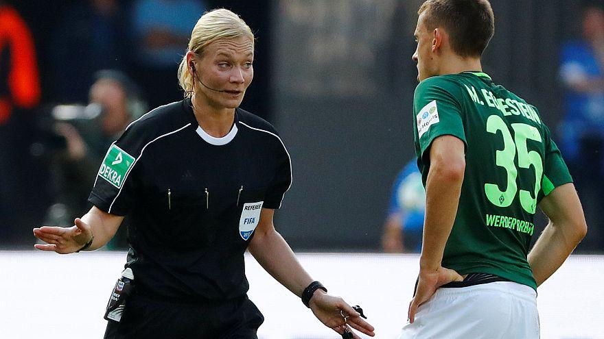Female referee makes Bundesliga history