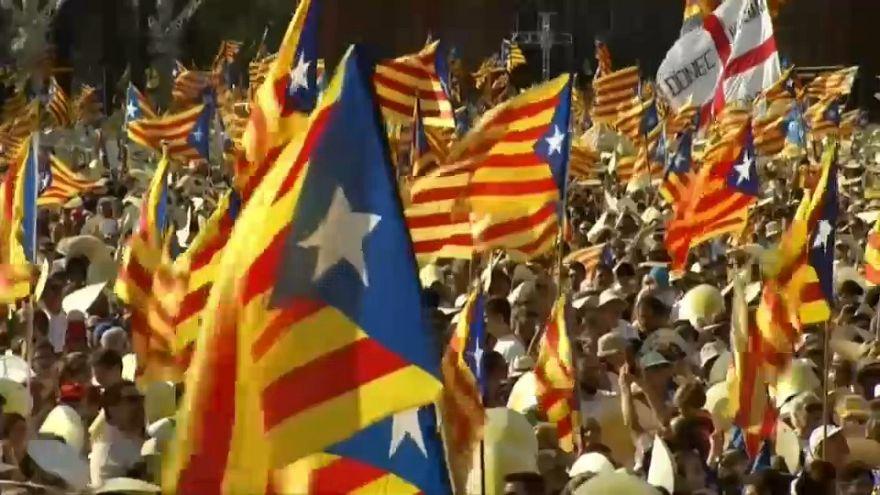 Todo listo en Barcelona para una de las ediciones más revindicativas de la Diada