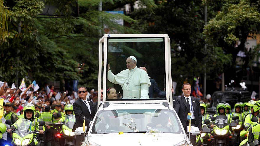 Последний день визита папы