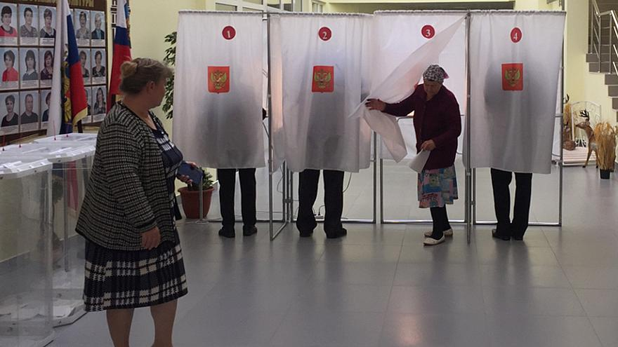 Россия: день выборов