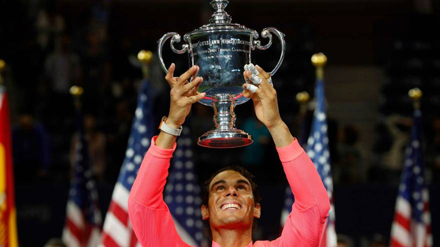 Nadal wins 3rd US Open and 16th Grand Slam