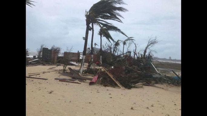 """Nach """"Irma"""": Macron reist nach Übersee"""
